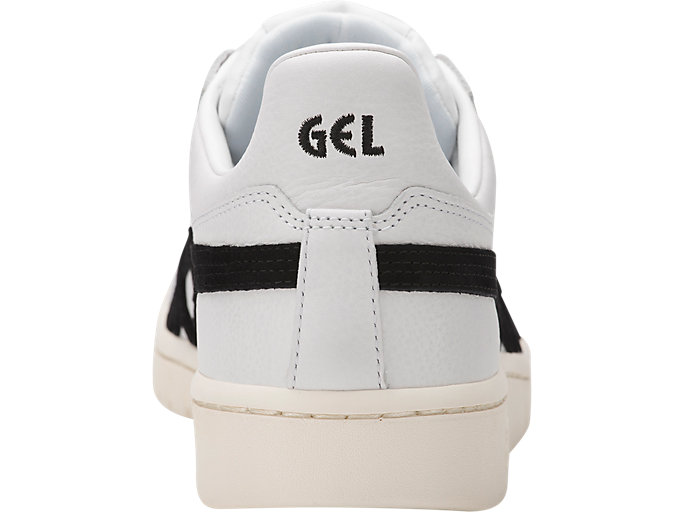 Back view of GEL-PTG, WHITE/BLK