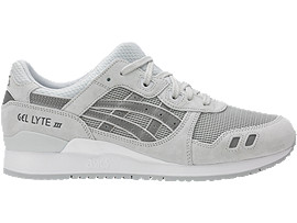 Right side view of GEL-LYTE III, GLACIER GREY/GLACIER GREY
