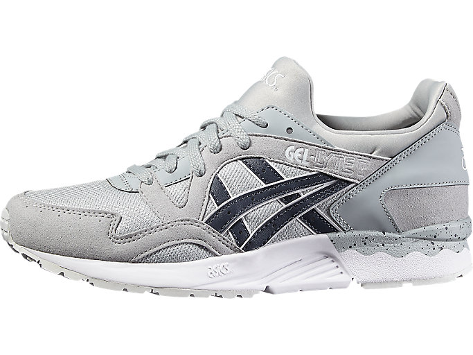 Front Right view of GEL-LYTE V, LIGHT GREY/INDIA INK