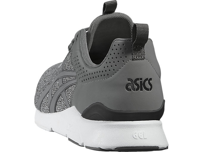 Back view of GEL-LYTE RUNNER, LIGHT GREY/LIGHT GREY