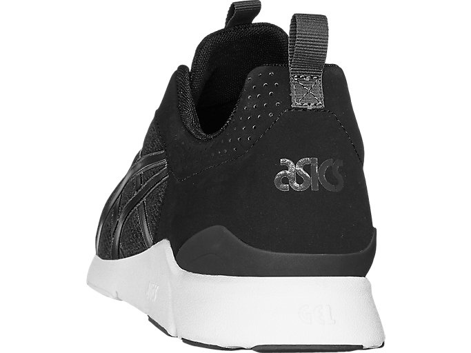 Back view of GEL-LYTE RUNNER, BLACK/BLACK