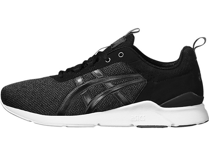 Front Right view of GEL-LYTE RUNNER, BLACK/BLACK