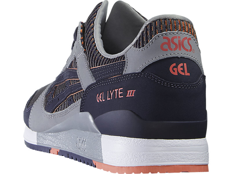 GEL-Lyte III Medium Grey/Guava 13 BK