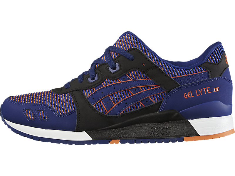 GEL-Lyte III Blue Print/Orange 1 RT