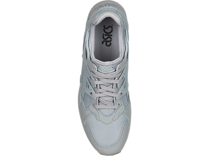 Top view of GEL-KAYANO TRAINER, MID GREY/MID GREY