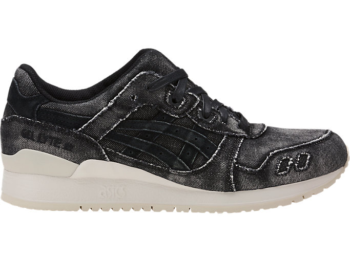 Right side view of GEL-LYTE III, BLACK/BLACK