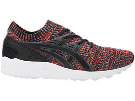 Right side view of GEL-KAYANO TRAINER KNIT, Carbon/Black