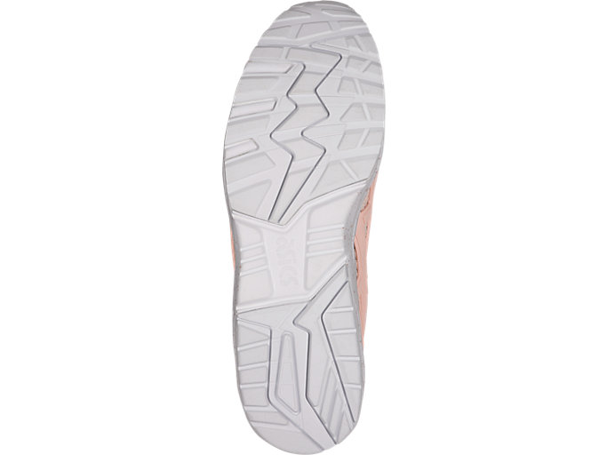 Bottom view of GEL-KAYANO TRAINER KNIT, EVENING SAND/EVENING SAND