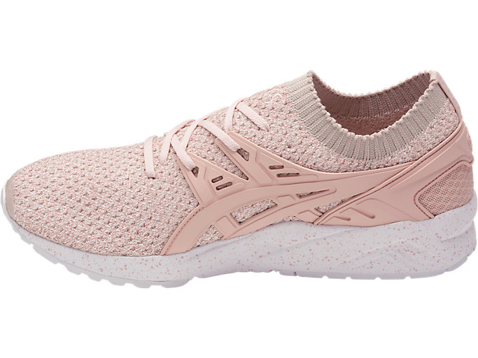 Left side view of GEL-KAYANO TRAINER KNIT, EVENING SAND/EVENING SAND
