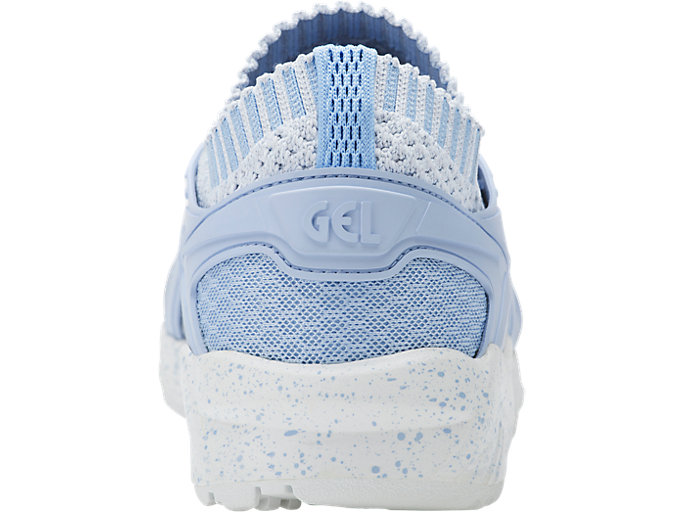 Back view of GEL-KAYANO TRAINER KNIT, SKYWAY/SKYWAY