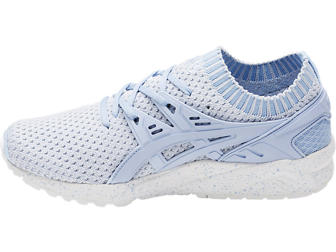 Left side view of GEL-KAYANO TRAINER KNIT, SKYWAY/SKYWAY
