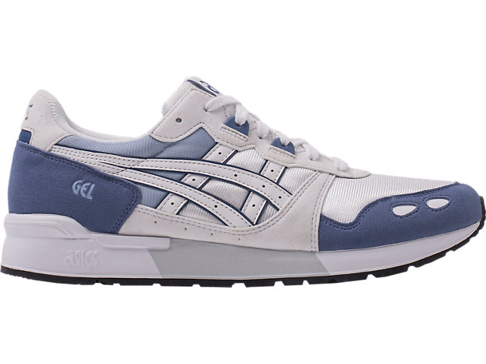 Right side view of GEL-LYTE, PIGEON BLUE/WHITE