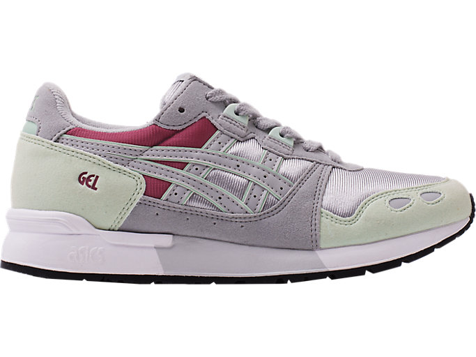 Right side view of GEL-LYTE, GOSSAMER GREEN/MID GREY