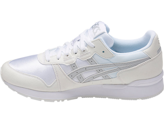 Left side view of GEL-LYTE, WHITE/GLACIER GREY