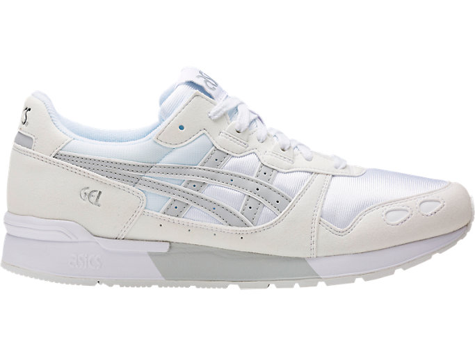Right side view of GEL-LYTE, WHITE/GLACIER GREY