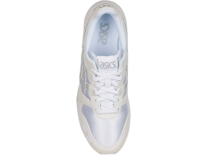 Top view of GEL-LYTE, WHITE/GLACIER GREY