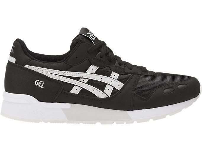 Right side view of GEL-LYTE, BLACK/GLACIER GREY