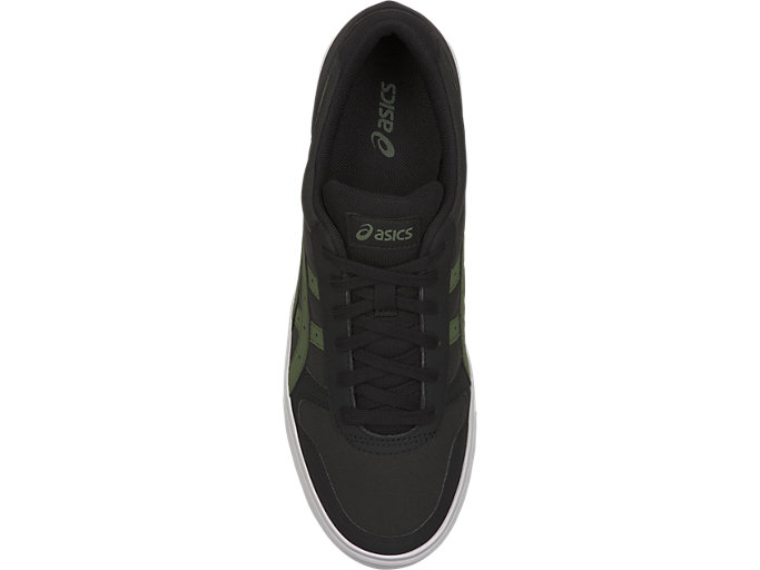 Top view of AARON, BLACK/MOSS