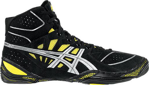 Asics Dan Gable Ultimate 3 Black/Silver/Yellow R27o6004
