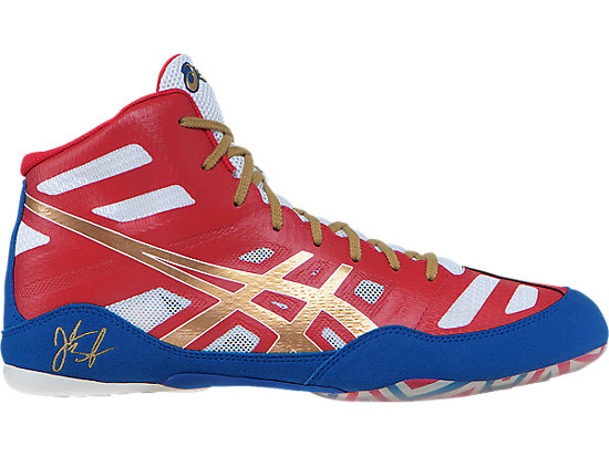 JB Elite | Men | True Red/Oly Gold/White | ASICS US
