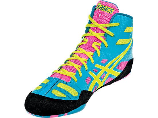 JB Elite Teal/Flash Yellow/Pink 11