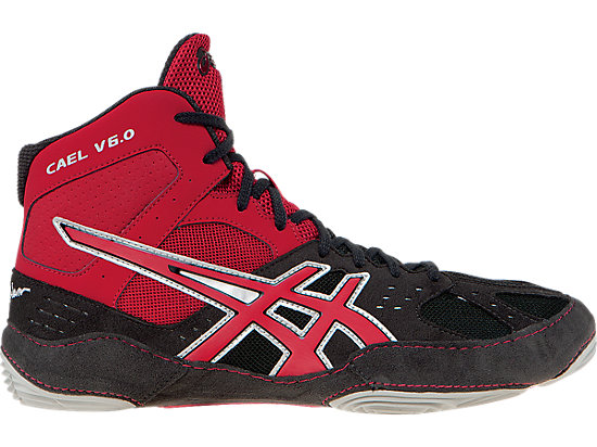 Cael V6.0 Charcoal/Fire Red/Silver 19