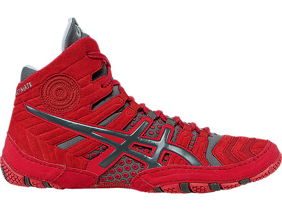 Red Asics  Weightlifting Shoe