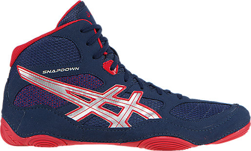 ASICS Snapdown Men's Navy/Silver/Red shoes onlin hot sale
