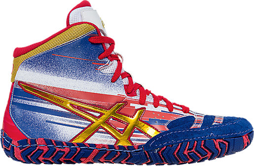 youth asics aggressor 2