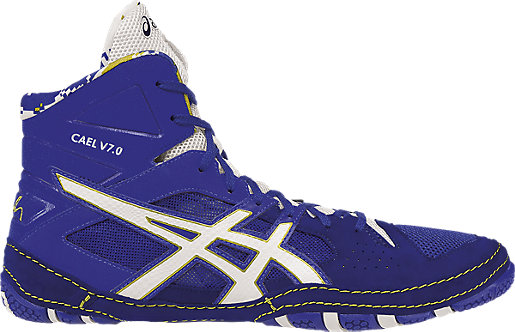 Cael V7.0 ASICS Blue/White/Rich Gold 3 RT