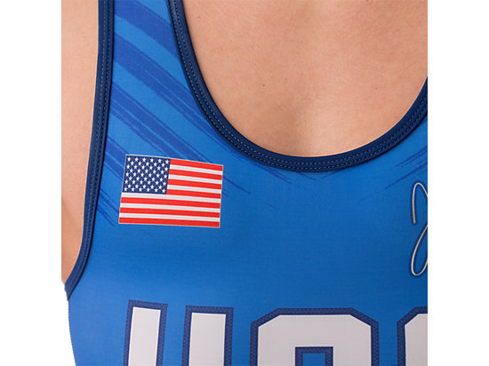 JB Elite Singlet Royal 15