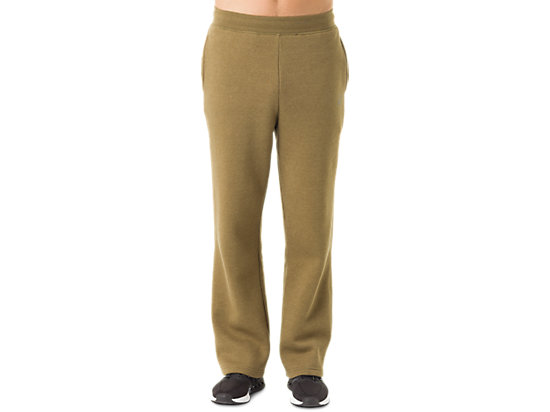 Men's Fleece Pants Military Olive Heather 3