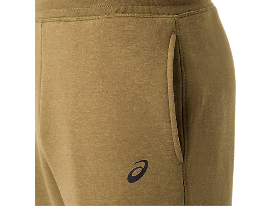Men's Fleece Pants Military Olive Heather 15