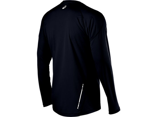 Long Sleeve Crew Performance Black 7