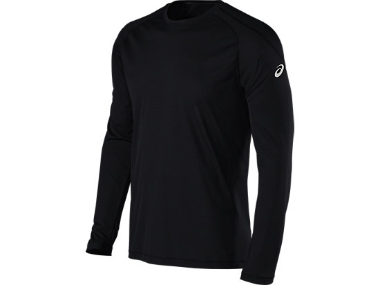 Long Sleeve Crew Performance Black 3