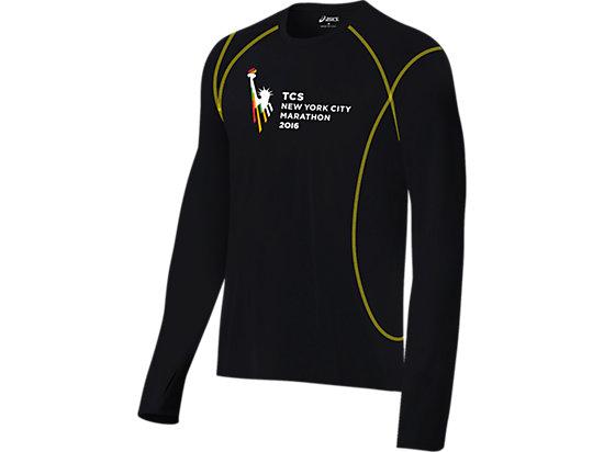 Marathon Long Sleeve Tee Black/Neon 3