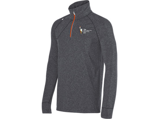Marathon Thermopolis 1/2 Zip Heather Iron 3