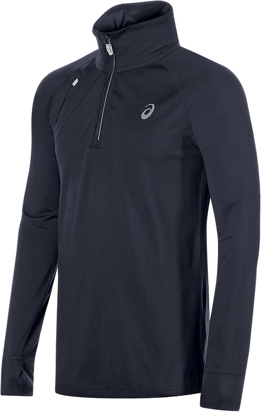 Thermopolis 1/2 Zip Performance Black 3 FT