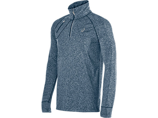 Thermopolis 1/2 Zip Poseidon Heather 3