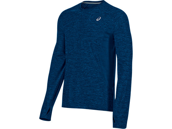Lite-Show Long Sleeve Imperial Blue Heather 3