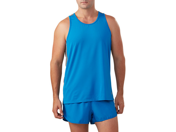Men's Singlet | Victoria Blue | Tights | ASICS