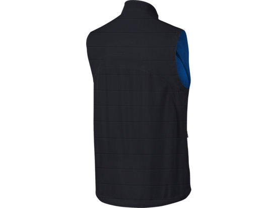 Marathon Reversible Vest Black/New Blue 7