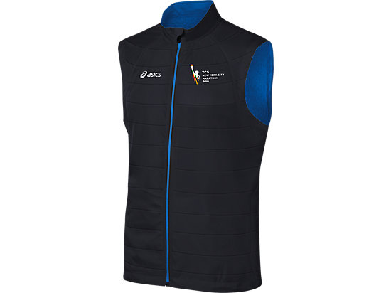 Marathon Reversible Vest Black/New Blue 3