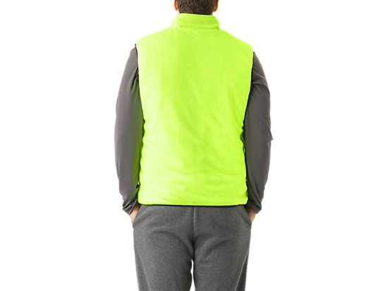 Mens Reversible Vest Indigo/Neon Yellow 19
