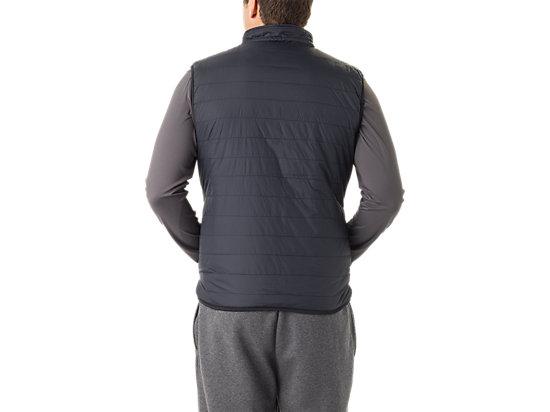 Mens Reversible Vest Black/Dark Grey 7