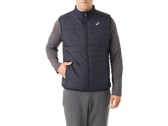Mens Reversible Vest Black/Dark Grey 3