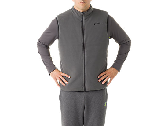 Mens Reversible Vest Black/Dark Grey 15