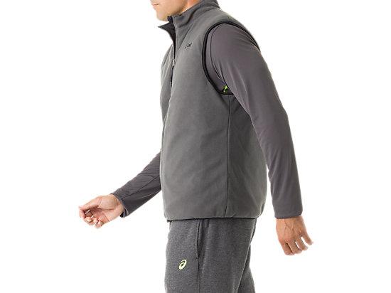 Mens Reversible Vest Black/Dark Grey 23