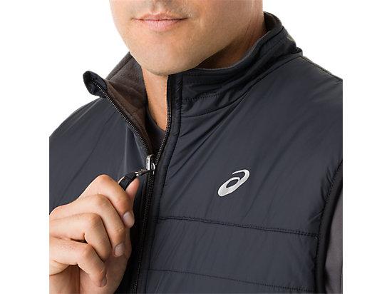 Mens Reversible Vest Black/Dark Grey 27