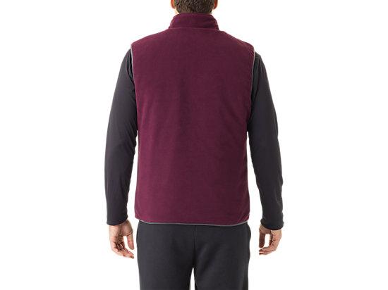 Mens Reversible Vest Indigo/Rioja Red 15